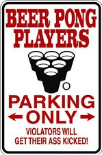 HUMOROUS BEER PONG METAL FUNNY MUST SEE GIFT COMICAL COLLEGE STUDENT FIRST APT