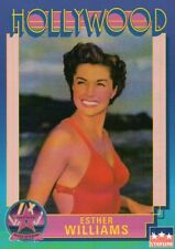 Esther Williams, Actress, Hollywood, Walk of Fame Trading Card --- NOT Postcard