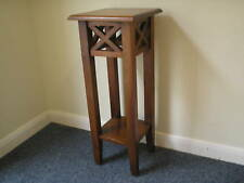 Quality solid mahogany plant-stand/ side table. Was £149 now £99.