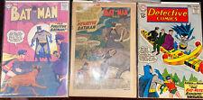 New ListingDetective Comics #235, 289 Batman #123 Cover reproduction *Lot Of 3*