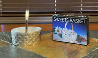 Webster Wilcox International SilverPlate Candy Sweets Basket Cup NEW In Box