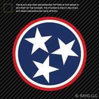 Tennessee Stars Sticker Premium Die Cut Vinyl TN flag