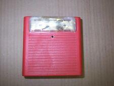 Wheelock As 24mcw 24 Vdc Fire Alarm Strobe Audible Signal 135185cd