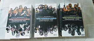The Walking Dead Compendium books 1, 2, 3