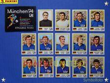 Panini★WM 1974 WorldCup WC 74★Team Ost-Deutschland komplett / DDR complete set
