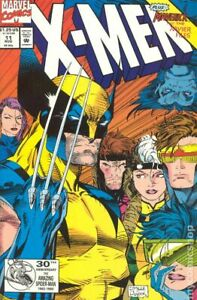 X-Men #11A Regular Variant FN 6.0 1992 Stock Image