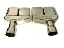 """70 71 72 73 74 CHALLENGER STAINLESS STEEL 2.5"""" EXHAUST TIPS 1970 1971 1972"""