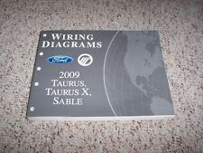 2009 Ford Taurus Electrical Wiring Diagram Manual SE SEL Limited 3.5L V6