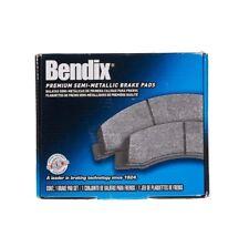 Disc Brake Pad-Bendix Semi-Metallic Disc Brake Pad Rear Bendix MKD932