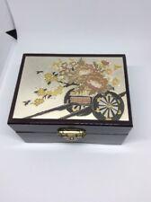 Vintage Original Chokin Art Collection Jewelry Box