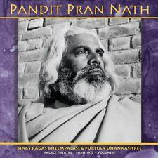 Pandit Pran Nath 'The Raga Cycle, Palace Theatre, Paris 1972' LPx2 indian raga