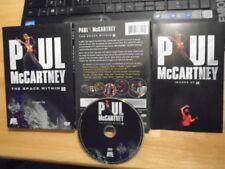 RARE OOP Paul McCartney DVD The Space Within Us BEATLES 2006 Hey Jude PENNY LANE