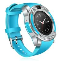 New Smartwatch Phone with Text Call Touch Screen Pedometer Mic Camera Pedometer