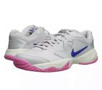 "Nike Womens Court Lite II Platinum Athletic Tennis Shoes sz 10 ""AR8838""*New*"
