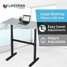 Lifespan Fitness Ergo Desk Easy Height Adjustable for Walking Treadmill Station