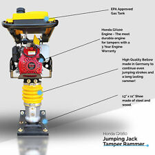 Honda Gx100 New Model Jumping Jack Tamper Rammer Dirt Compactor Impact