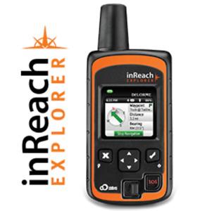Delorme Inreach explorer handheld Satellite garmin gps