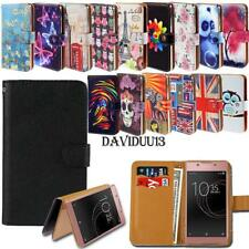 Leather Smart Stand Wallet Case Cover For Sony Xperia XZ SmartPhones