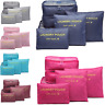 6PCS Waterproof Travel Storage Bag Clothes Packing Cube Luggage Organizer Pouch,