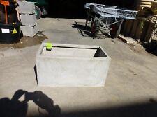 Rectangle Pots Fibreglass Sand Polished  600 x 300mm hgt x 300mm wd   NOW $55-ea