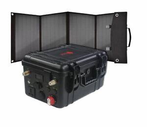 Ryton Waterproof 1000W 1200WH Lithium 100AH Solar Inverter Generator NEW