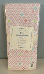 POTTERY BARN BABY FITTED CRIB SHEET - LUCY - 100% Organic - NEW