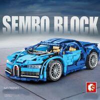 Lego ☆ Compatibile 100% Technic ☆ 1220 pz ► Bugatti 1/14 ◄ IN SCATOLA BULK  ►NEW