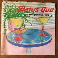"""Status Quo - Marguerita Time/Resurrection - 7"""" Vinyl  1983 - Quo 14 (45/54)"""