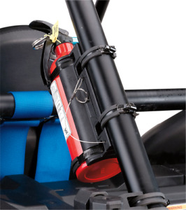 """Moose Utility UTV SXS Fire Extinguisher Mount For 1.5"""" - 2"""" Roll Cage 4050-0049"""