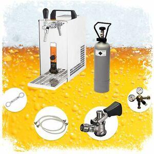 Komplett Set - Zapfanlage, Bierkoffer, Durchlaufkühler PYGMY 20 1-leitig Trocken