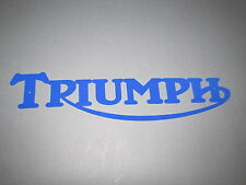 Triumph Motorcycle Swooping R Sign