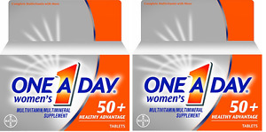 One A Day Women's 50+ Advantage Multivitamins, 65 Count (2 Pack)
