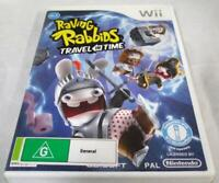 Raving Rabbids Travel in Time Nintendo Wii PAL *Complete* Wii U Compatible