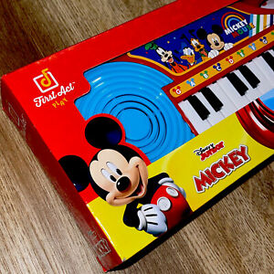 Disney Mickey Musical Keyboard First Act Play Mickey Mouse Clubhouse RARE Toy