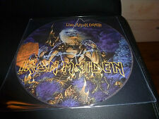 LP.IRON MAIDEN.LIVE AFTER DEATH.LIVE 85 12 TITRES.PICTURE DISC.PRESSAGE  BRAZIL