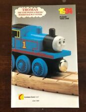 1994 Learning Curve Wooden Thomas Train Catalog! Rare!