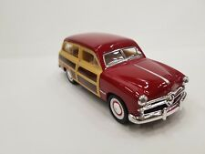 1949 Ford Woody Wagon dark red kinsmart TOY model 1/40 scale diecast metal Car