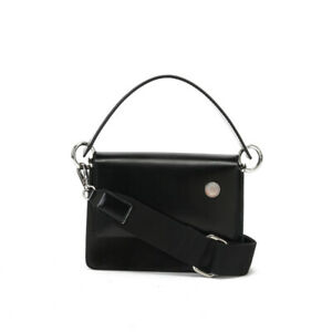 Small Mini Real Leather Chain Crossbody Bag Shoulder Bag Tote Purse Top Handle