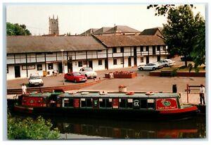 Postcard Kenavon Venture Devizes Wharf Canal Narrowboat Kennet and Avon