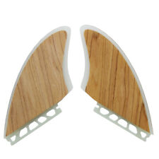 New Arrival 2pcs /Set Wood Veneer Futures Keel Fins