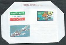 1980 ITALIA AEROGRAMMA TRASVOLATA ATLANTICA - ED