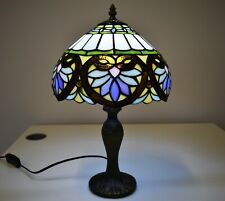 Colourful Stained Glass Tiffany Home Decor Light Colourful Table Bedside Lamp