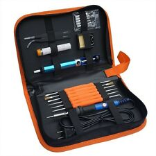 220V 60W Adjustable Temperature Welding Electric Soldering Iron Tool Kit
