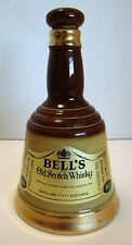 BELL'S OLD SCOTCH WHISKEY BELL BOTTLE SCOTLAND WADE POTTERY BAR CERAMIC BARWARE