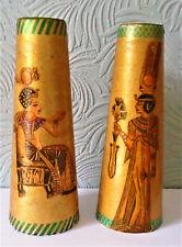 dolls house PILLARS / COLUMNS Ancient Egyptian Art Deco revival HANDMADE #2