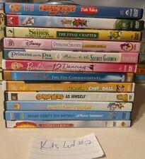 Kids Movies DVD Lot 2