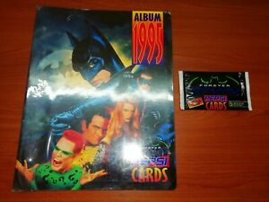 Batman Forever Pepsi Cards COMPLETE!! Spanish + Collector Album + Full Envelope