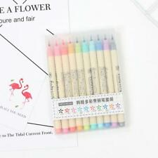 10 Colour Artist Brush Pens Watercolour Drawing Calligraphy Painting Pen Set,