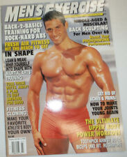 Men's Exercise Magazine Back Sculpting & Upper Body Workout March 2000 030615R