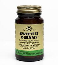 Solgar Sweetest Dreams 30 Vegetable Capsules Supplying L-Theanine and Melatonin